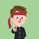 男子生徒のイメージ