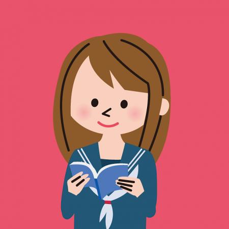 女子生徒のイメージ